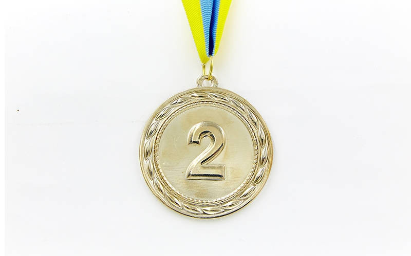Медаль Серебро ABILITY d-6,5см C-4841-2