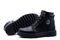 Кожаные мужские зимние ботинки   BBP