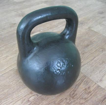 Гиря атлетическая16кг. литая, фото 2