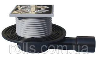 HL90.2 Горизонтальний трап для терас і балконів, DN40/50