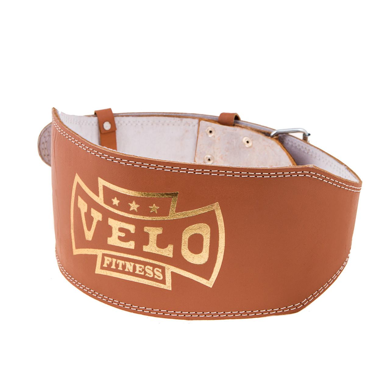 Пояс штангиста кожа широкий Velo VLS-18027