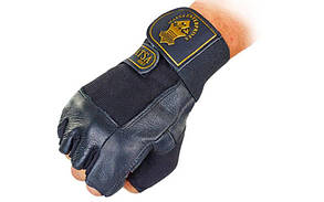 Перчатки атлетические кожа, фото 2