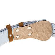 Пояс штангиста широкий коричневый BWS B16025, фото 3