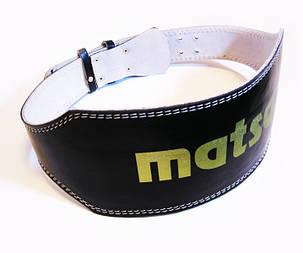 Пояс штангиста широкий MATSA PVC MA-0042, фото 2