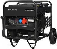 Бензогенератор 380V Hyundai HY 12000LE-3 (Cashback -5%) + канистра 20л