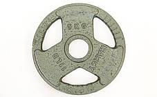 Блины стальные с хватом 5кг (диам. 52мм), фото 2