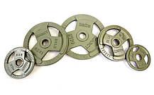 Блины стальные с хватом 15кг (диам. 52мм) TA-8026-15, фото 3