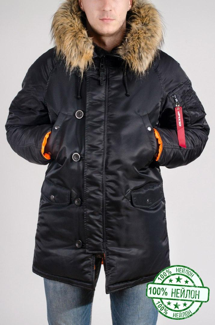 Зимняя парка Olymp - Аляска N-3B, Slim Fit до - 30