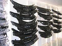 Дефлектор капота Опель Виваро, Opel Vivaro с 2001 г.в.(короткая)