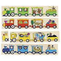 Goki Пазл Цветной паровоз 56945 (56945)