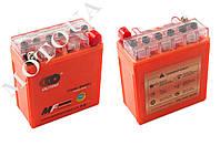 Акумулятор 12V 5А   гелевый (высокий)   (119x60x128, оранжевый, mod:YTX5AL-BS)