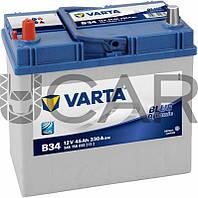 Varta Blue Dynamic B34 45 A-h 330 A аккумулятор (+-, L) Asia, 11.2017 - 06.2018 (545158033)
