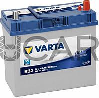Varta Blue Dynamic B32 45 A-h 330 A аккумулятор (-+, R) Asia, 11.2017 - 06.2018 (545156033)