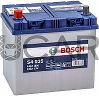 Bosch S4025 Silver 60 Ah 540 A аккумулятор (+-, L) Asia, 11.2017 - 06.2018 (0092S40250)