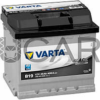 Varta Black Dynamic B19 45 A-h 400 A аккумулятор (-+, R), 11.2017 - 07.2018 (545412040)
