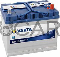 Varta Blue Dynamic E23 70 Ah 630 A аккумулятор (-+, R) Asia, 11.2017 - 06.2018 (570412063)
