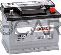 Bosch S3005 Black 56 Ah 480 A аккумулятор (-+, R), 11.2017 - 05.2018 (0092S30050)