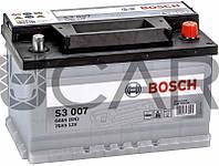 Bosch S3007 Black 70 Ah 640 A аккумулятор (-+, R), 11.2017 - 05.2018 (0092S30070)