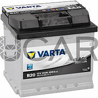 Varta Black Dynamic B20 45 A-h 400 A аккумулятор (+-, L), 11.2017 - 07.2018 (545413040)