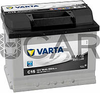 Varta Black Dynamic C15 56 A-h 480 A аккумулятор (+-, L), 11.2017 - 07.2018 (556401048)