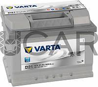 Varta Silver Dynamic D21 61 A-h 600 A аккумулятор (-+, R), 11.2017 - 06.2018 (561400060)