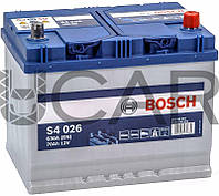 Bosch S4 026 Silver 70 Ah 630 A аккумулятор (-+, R) Asia, 2019 год (0092S40260)