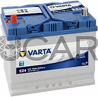 Varta Blue Dynamic E24 70 Ah 630 A аккумулятор (+-, L) Asia, 11.2017 - 06.2018 (570413063)