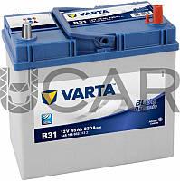 Varta Blue Dynamic B31 45 A-h 330 A аккумулятор (-+, R) Asia тонкие клеммы, 11.2017 - 06.2018 (545155033)