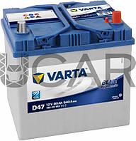 Varta Blue Dynamic D47 60 A-h 540 A аккумулятор (-+, R) Asia, 11.2017 - 06.2018 (560410054)