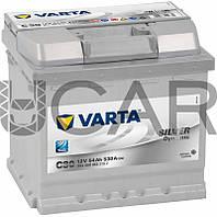 Varta Silver Dynamic C30 54 A-h 530 A аккумулятор (-+, R), 2017 год (554400053)