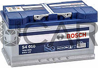 Bosch S4 010 Silver 80 Ah 740 A аккумулятор (-+, R), 2018 год (0092S40100)