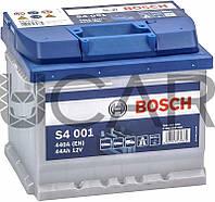 Bosch S4 Silver 44 Ah 440 A аккумулятор (-+, R)