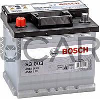 Bosch S3003 Black 45 Ah 400 A аккумулятор (+-, L), 11.2017 - 08.2018 (0092S30030)