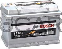 Bosch S5008 Silver Plus 77 Ah 780 A аккумулятор (-+, R), 11.2017 - 06.2018 (0092S50080)