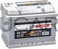Bosch S5004 Silver Plus 61 Ah 600 A аккумулятор (-+, R), 2017 год (0092S50040)