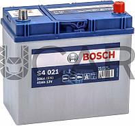 Bosch S4021 Silver 45 Ah 330 A аккумулятор (-+, R) Asia, 11.2017 - 08.2018 (0092S40210)