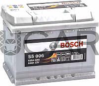 Bosch S5006 Silver Plus 63 Ah 610 A аккумулятор (+-, L), 2017 год (0092S50060)