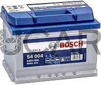 Bosch S4004 Silver 60 Ah 540 A аккумулятор (-+, R) низкий, 11.2017 - 05.2018 (0092S40040)