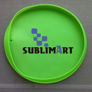 Силиконовая форма для сублимации на тарелке 20см, фото 2