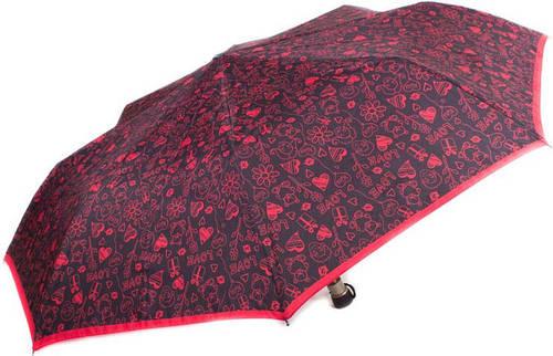 Привлекательный женский зонт, полуавтоматический AIRTON (АЭРТОН) Z3615-9 Антиветер