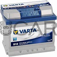 Varta Blue Dynamic B18 44 A-h 440 A аккумулятор (-+, R), 11.2017 - 06.2018 (544402044)