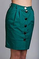 Женская юбка из плащевой ткани на подкладке