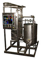 Установка для пастеризации и охлаждения вина, пива, кваса, медовухи