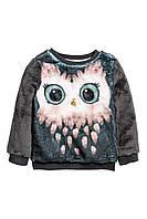 Детский плюшевый свитер для девочки   2-4 года, фото 1