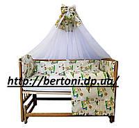 Детская полнокомплектная постель Немовлятко