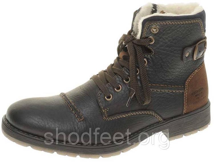 Мужские зимние ботинки Rieker 33334-26