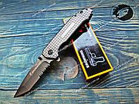 Нож складной 356 Browning Gray Полуавтомат