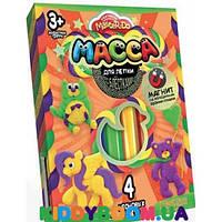 Набор Масса для лепки Master Do (4 цвета) + магнит Danko Toys MMD-02