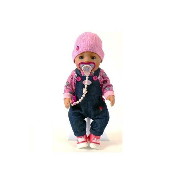 Кукла BABY BORN ДЖИНСОВЫЙ СТИЛЬ 43 см с аксессуаром