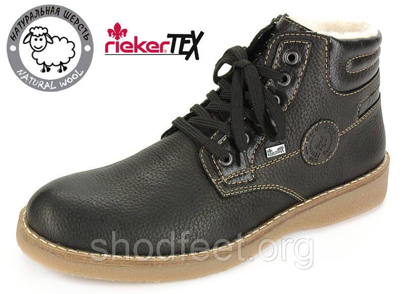 Мужские зимние ботинки Rieker 30013-00